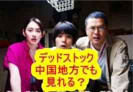デッドストックのドラマ|中国(岡山・鳥取・島根・広島・山口)でも放送するのか?