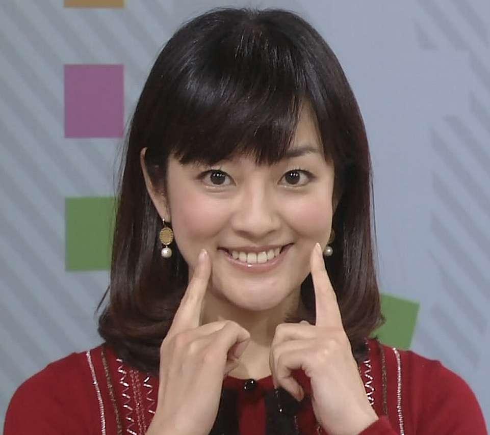 鈴木奈穂子アナの身長や体重、カップサイズは?【画像】