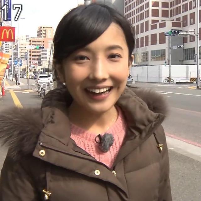 林田理沙アナ ブラタモリでの笑顔えくぼがかわいい【画像】