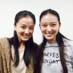 中越典子が武井咲に似てる『姉妹?』『どっちがどっち?』の声も